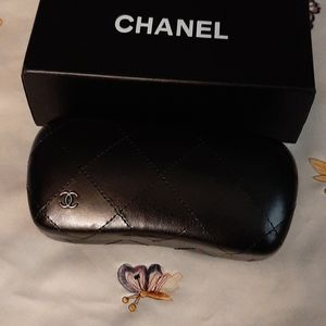 CHANEL Accessories - Chanel Quilted Sunglasses Case